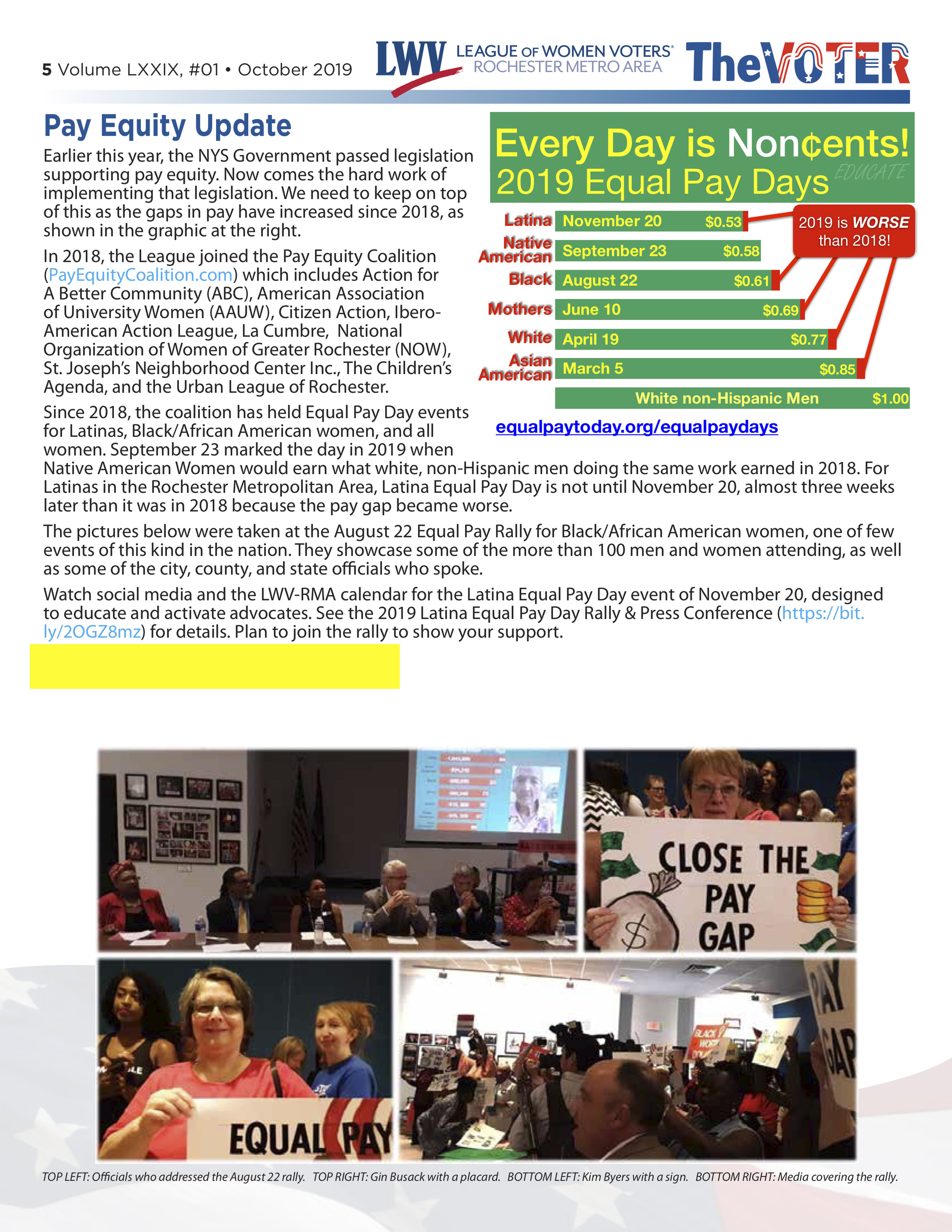 League of Women Voters article