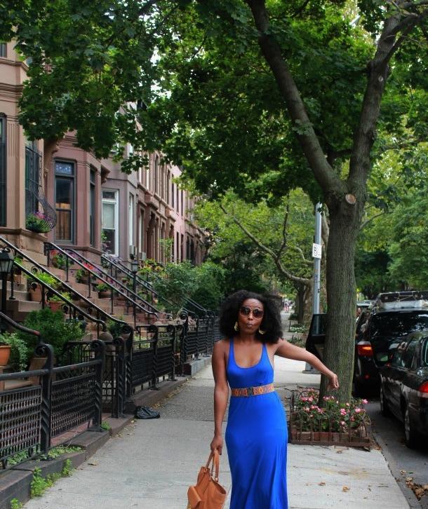 Walking around brownstone Brooklyn