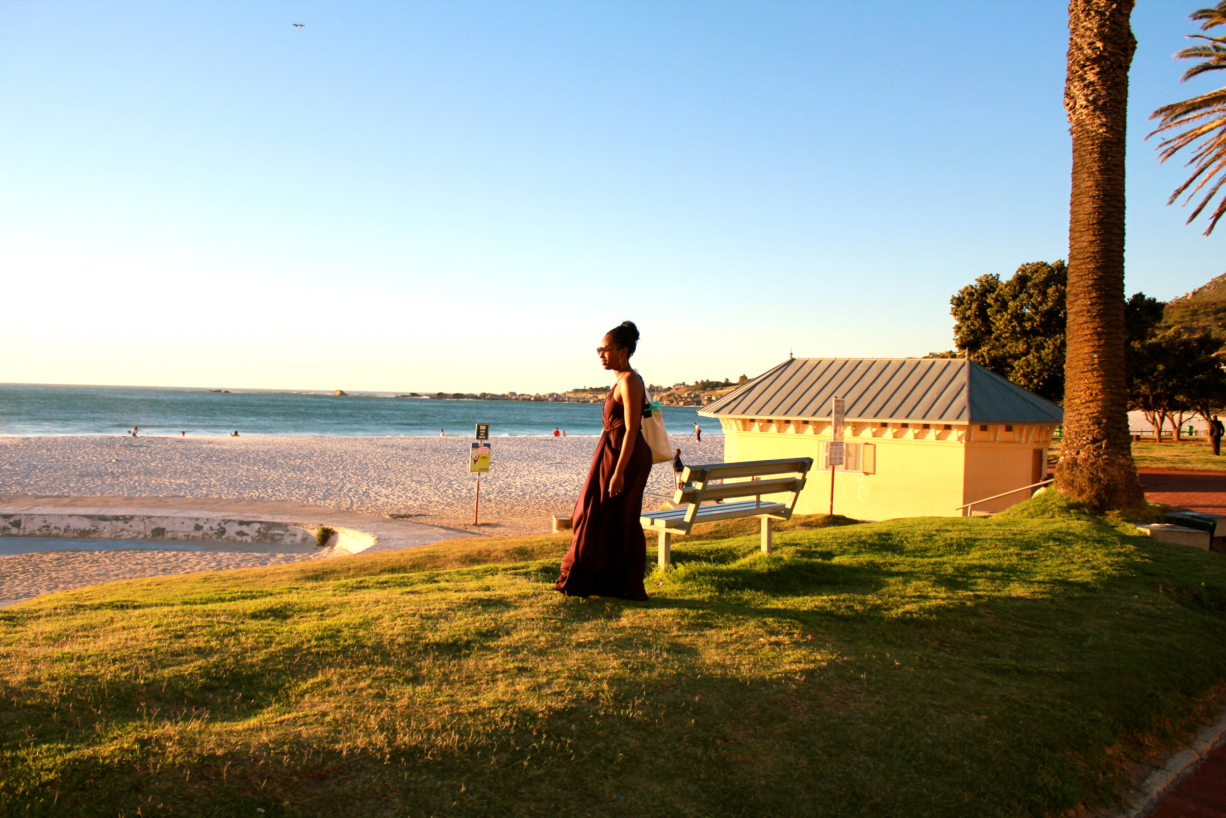 Me on the beach in Cape Town