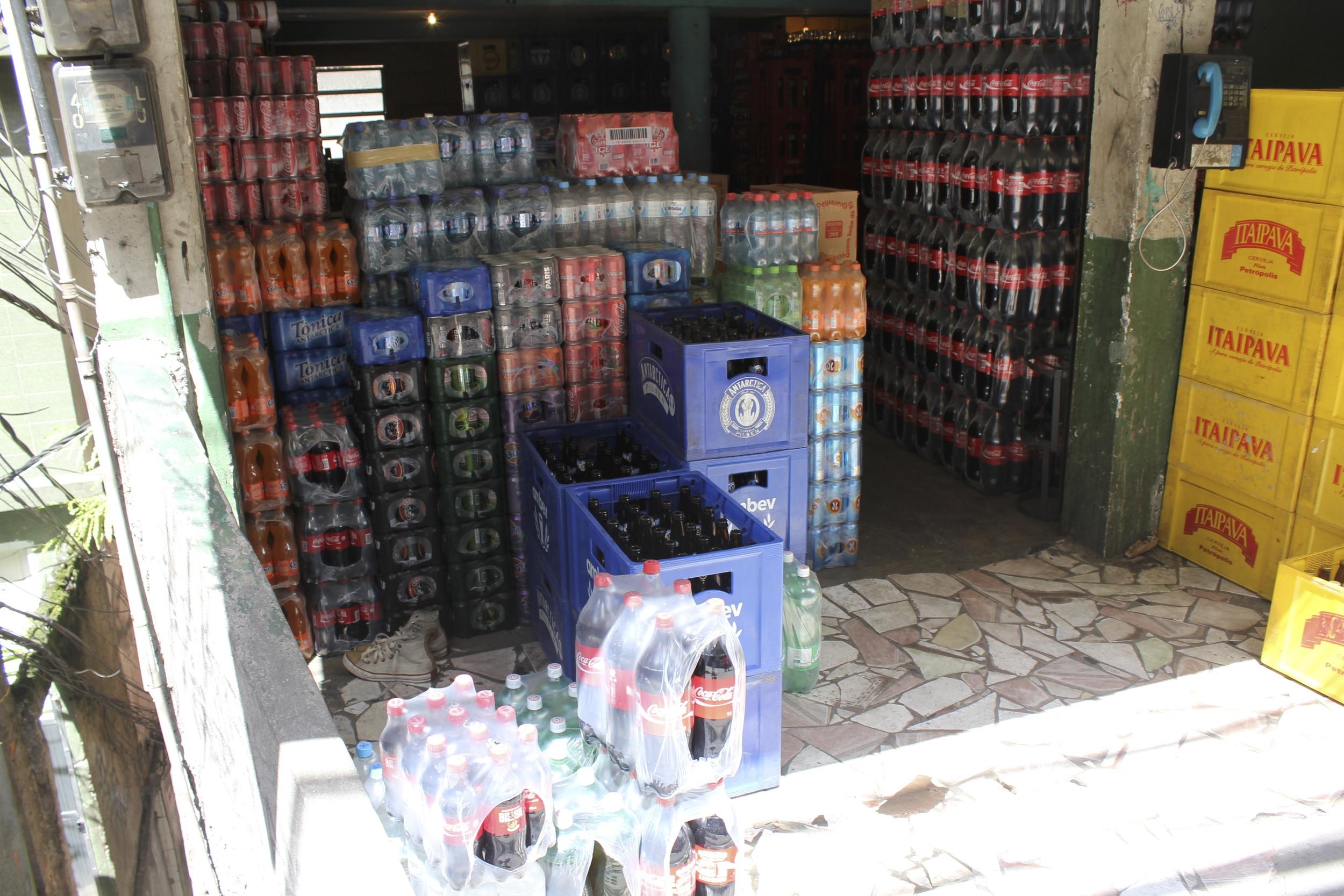 A market in Rocinha