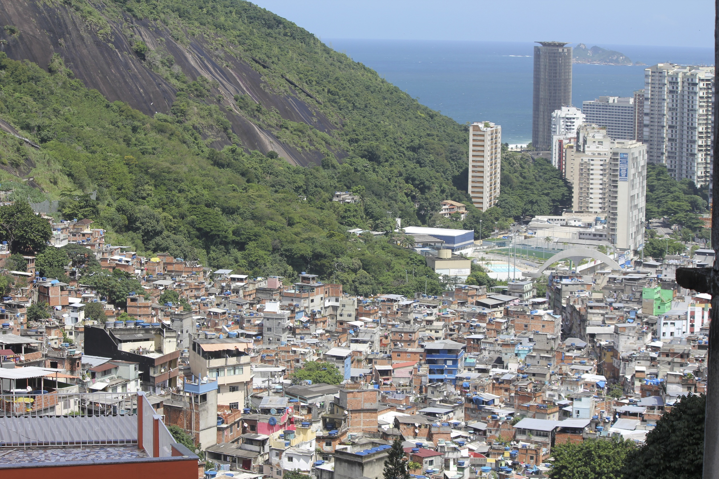 The view from Rocinha