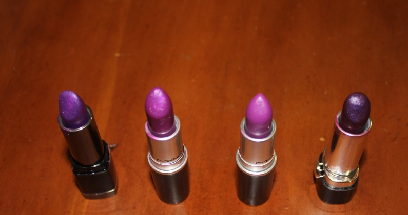 Purple Lipsticks!