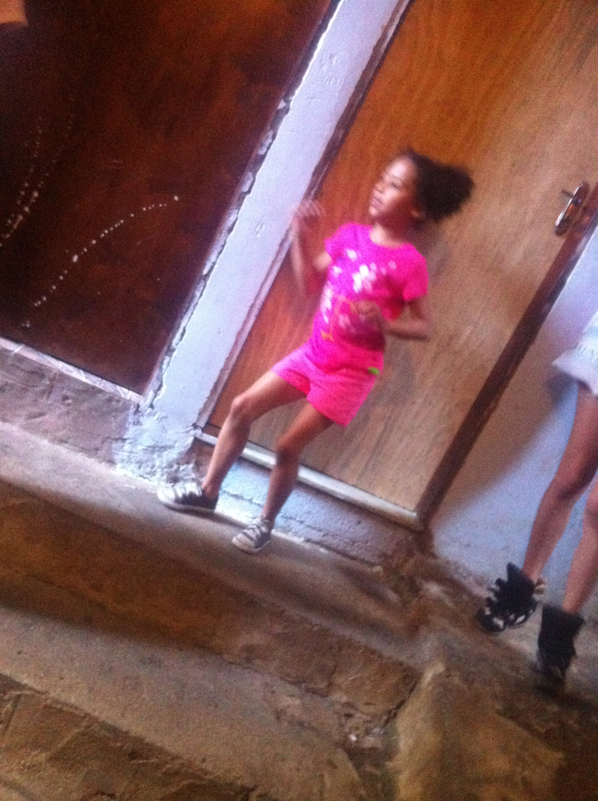 In Rocinha, Brazil at 6 years old