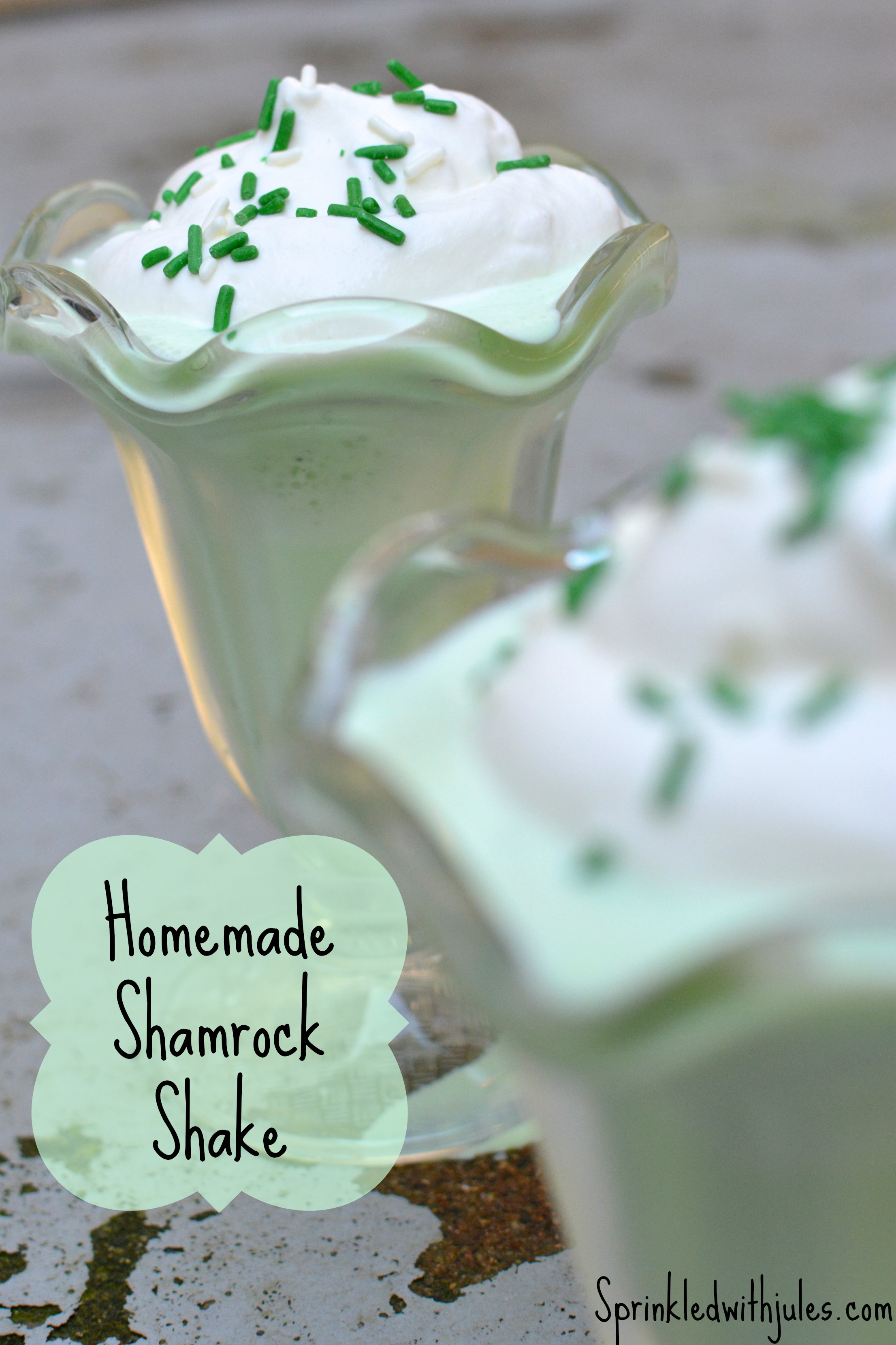 Shamrock Shake - Sprinkled With Jules