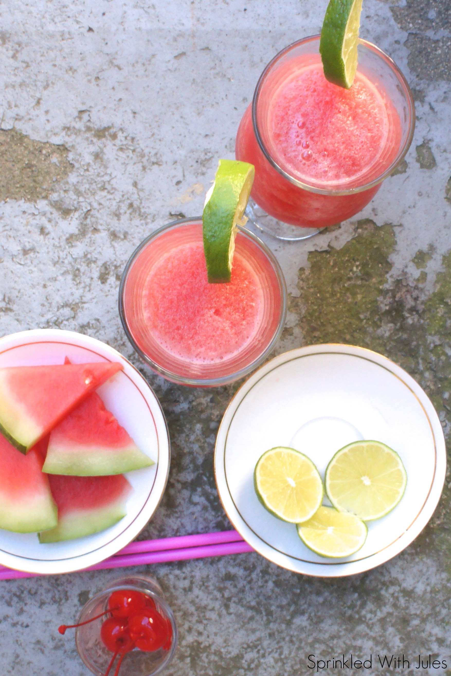 Watermelon Lime Daiquiri / Sprinkled With Jules