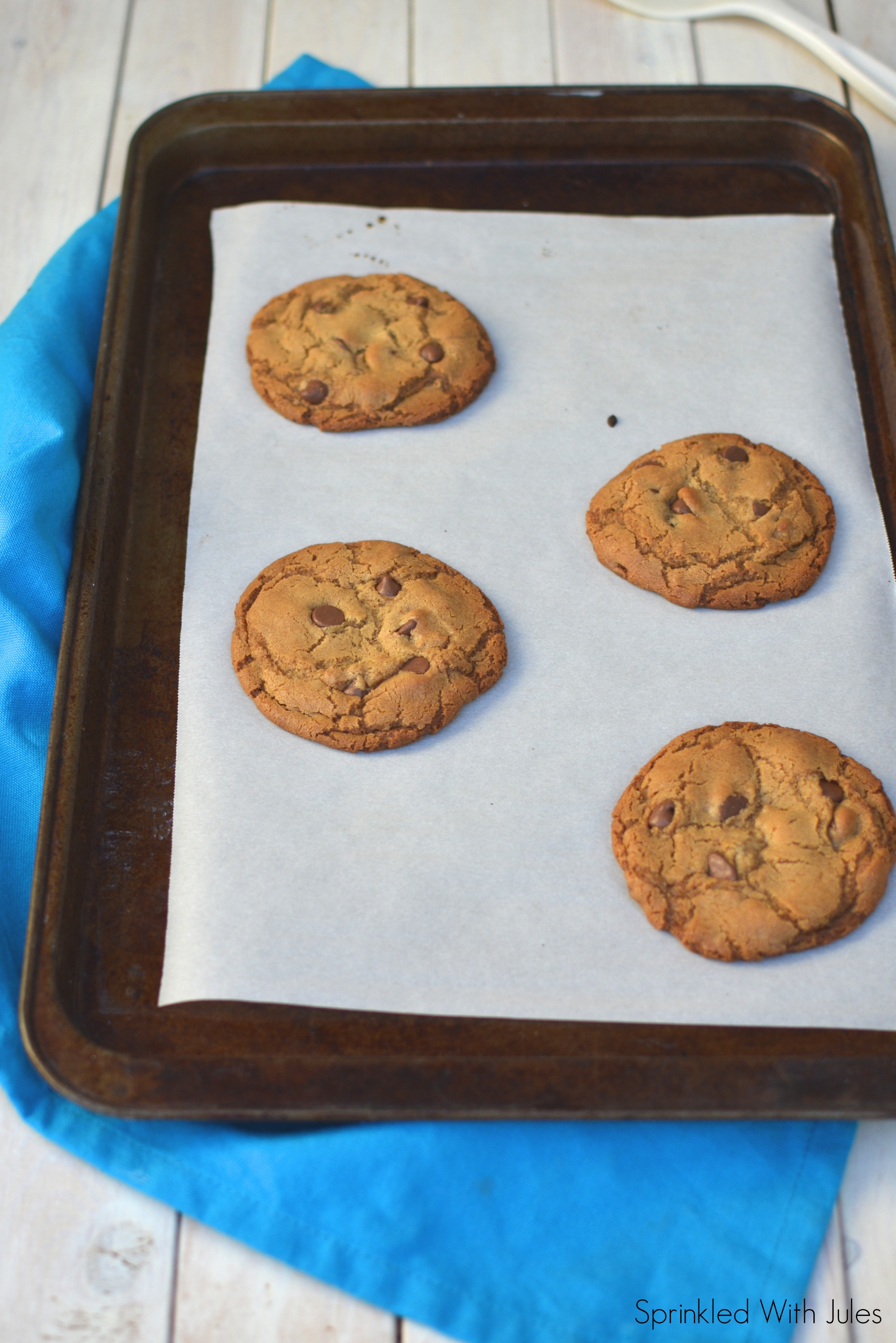 Small Batch Brown Butter Chocolate Chip Cookies / Sprinkled With Jules
