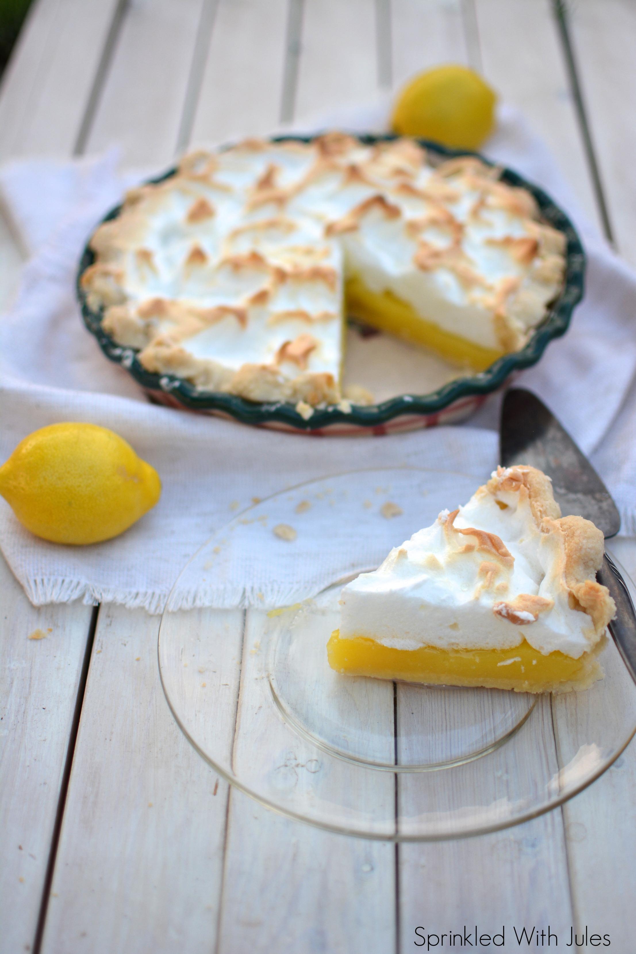 Nannie's Lemon Meringue Pie / Sprinkled With Jules