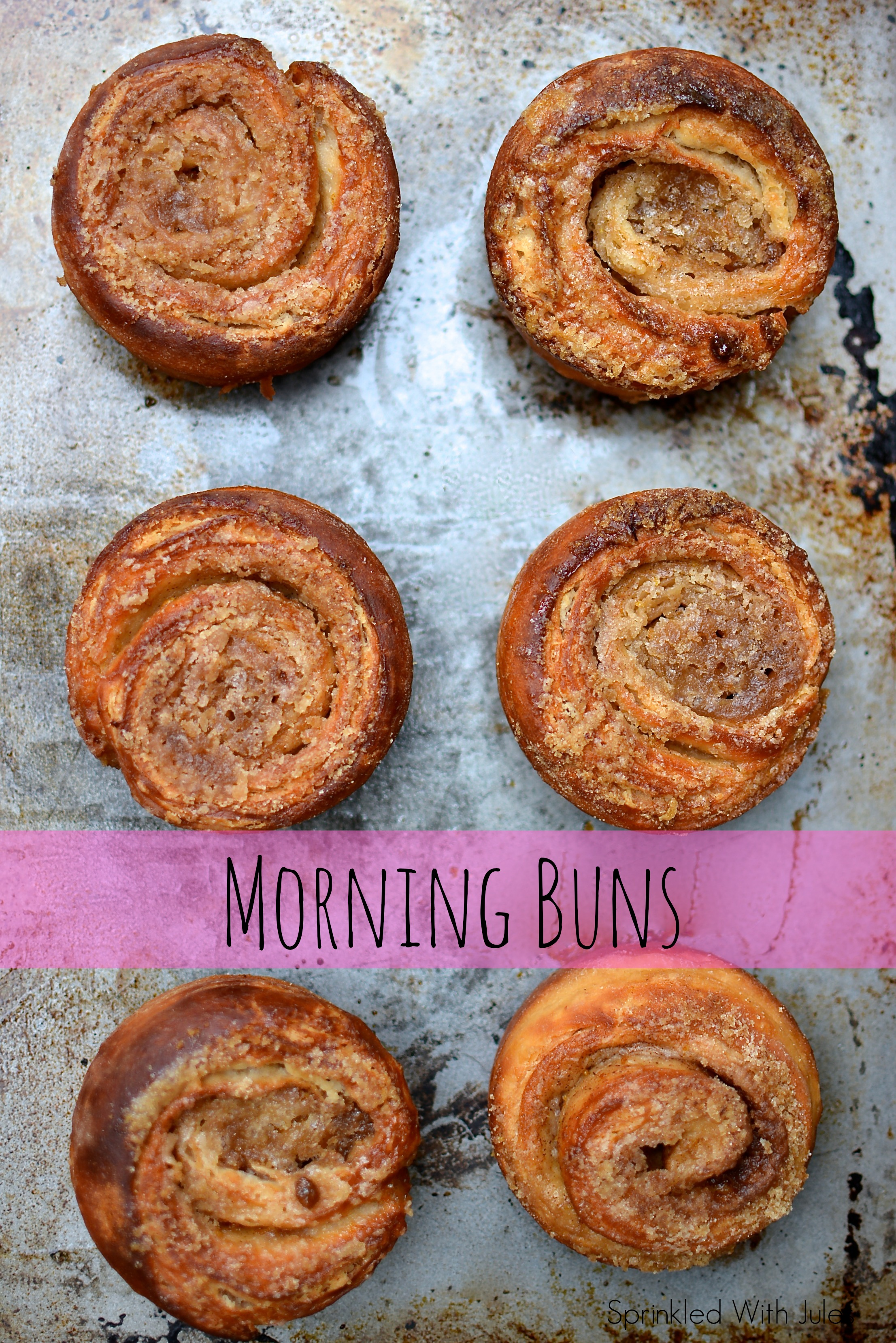 Morning Buns. Just like the ones at Starbucks. Made with cinnamon sugar and orange zest. // Sprinkled With Jules