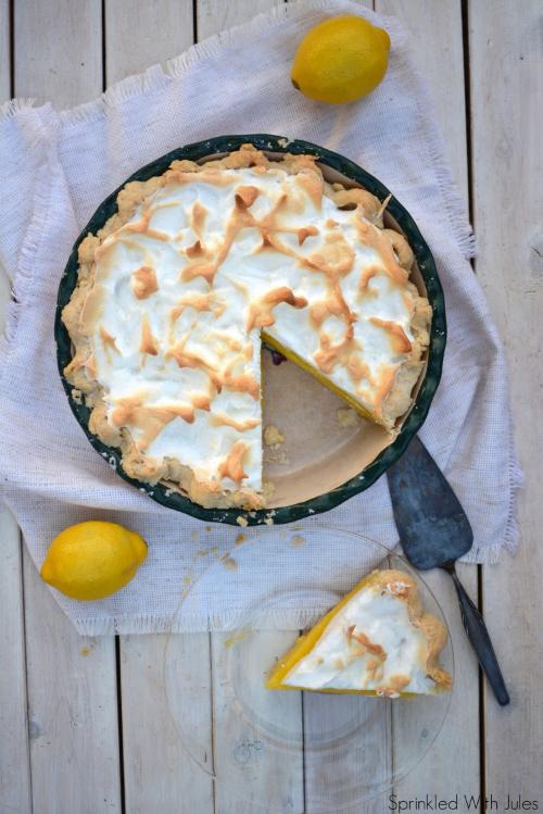 Lemon Meringue Pie / Sprinkled With Jules
