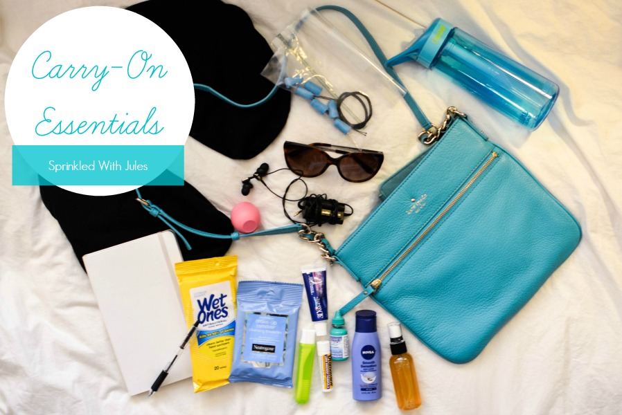Carry-On Essentials, packing 8 days in a carry-on, and what to pack for Paris and Rome in the winter. / Sprinkled With Jules
