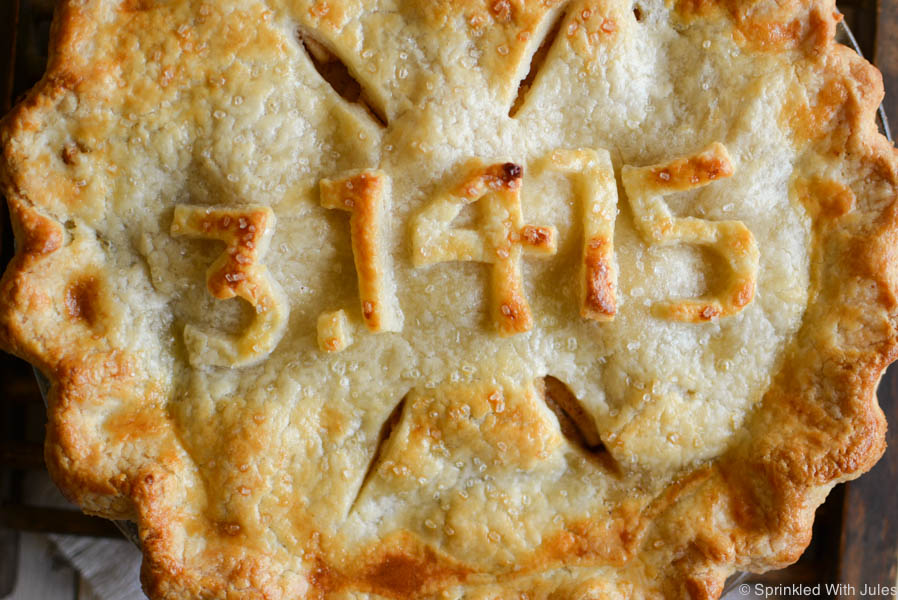 Bourbon Apple Pie for Pi Day! 3/14/15 / Sprinkled With Jules