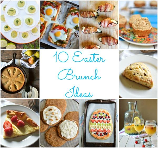 10 Easter Brunch Ideas / Sprinkled With Jules