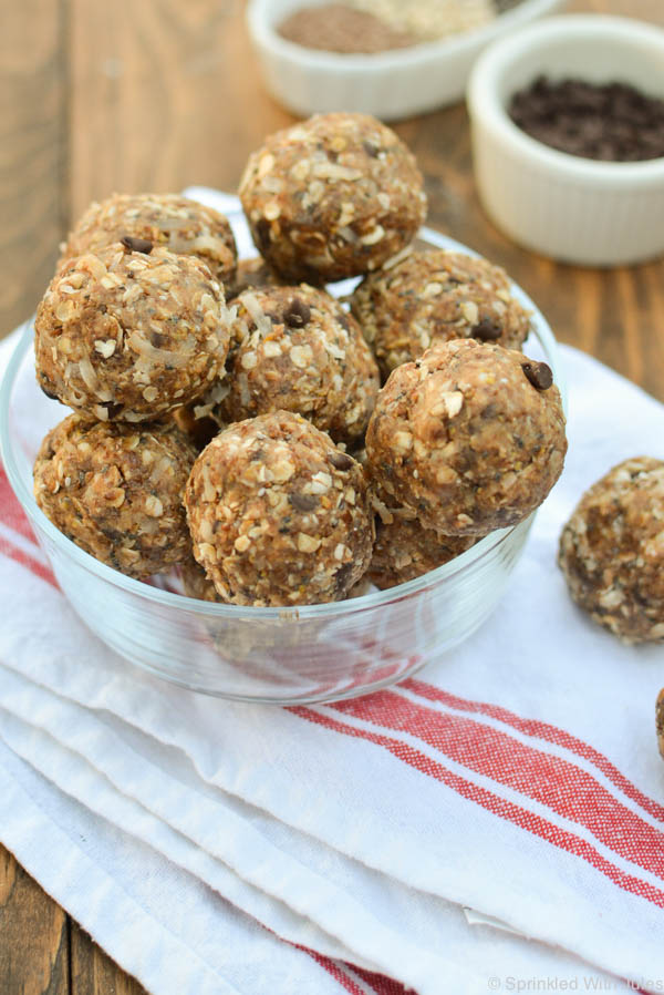 no-bake protein-packed energy balls for a delicious on-the-go snack.