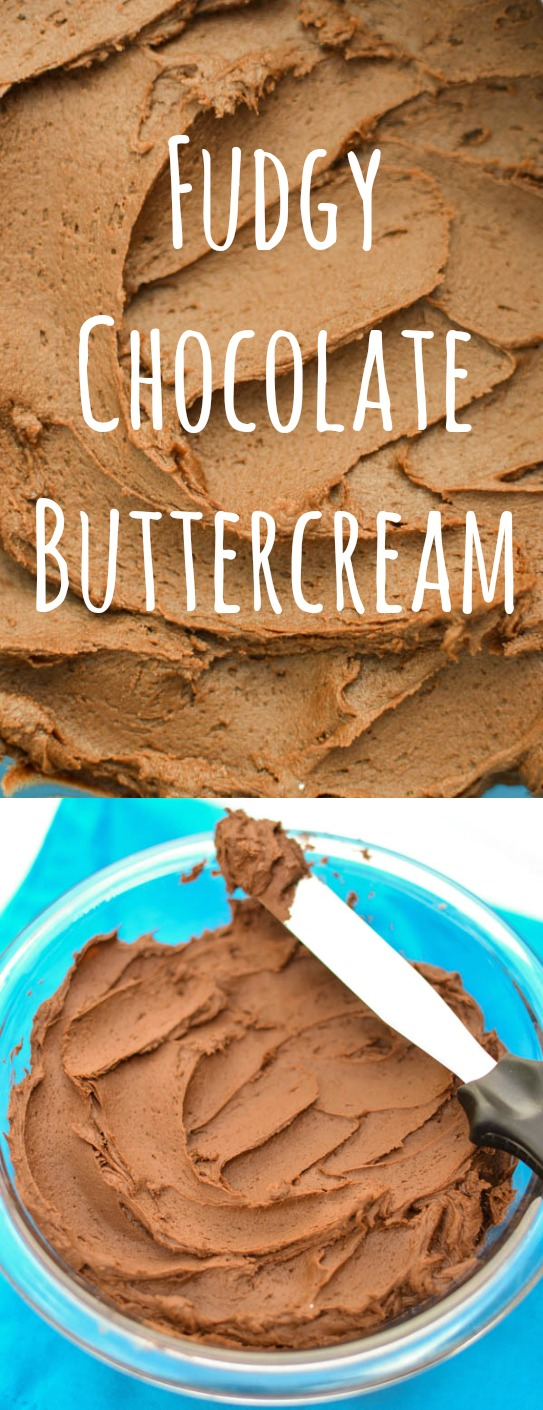 This frosting is thick, creamy, and so rich it almost tastes like fudge. Perfect for piping, swirling, smoothing, and inhaling, if you're into that kinda thing..