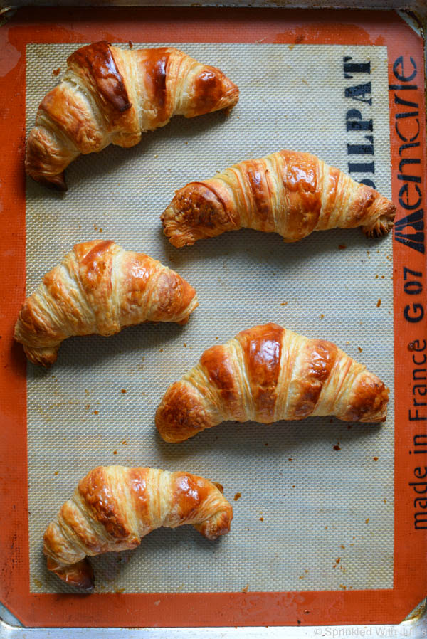 Homemade Croissants Recipe. Tons of step-by-step photos for these amazing buttery pastries.