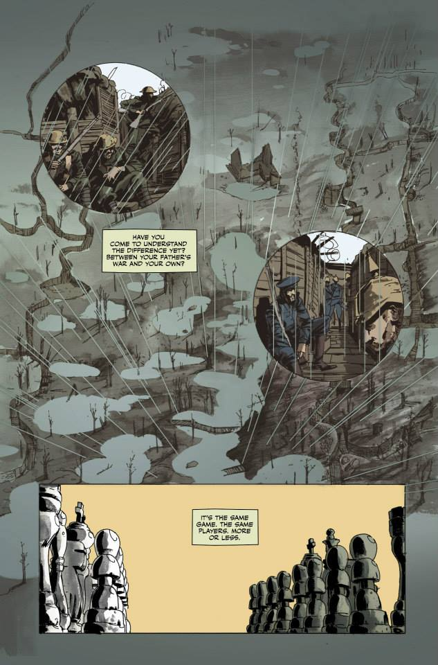 Previews for Peter Panzerfaust #18 have gone up! Check them out here:  https://www.facebook.com/media/set/?set=a.724407914246209.1073741834.257473767606295&type=3