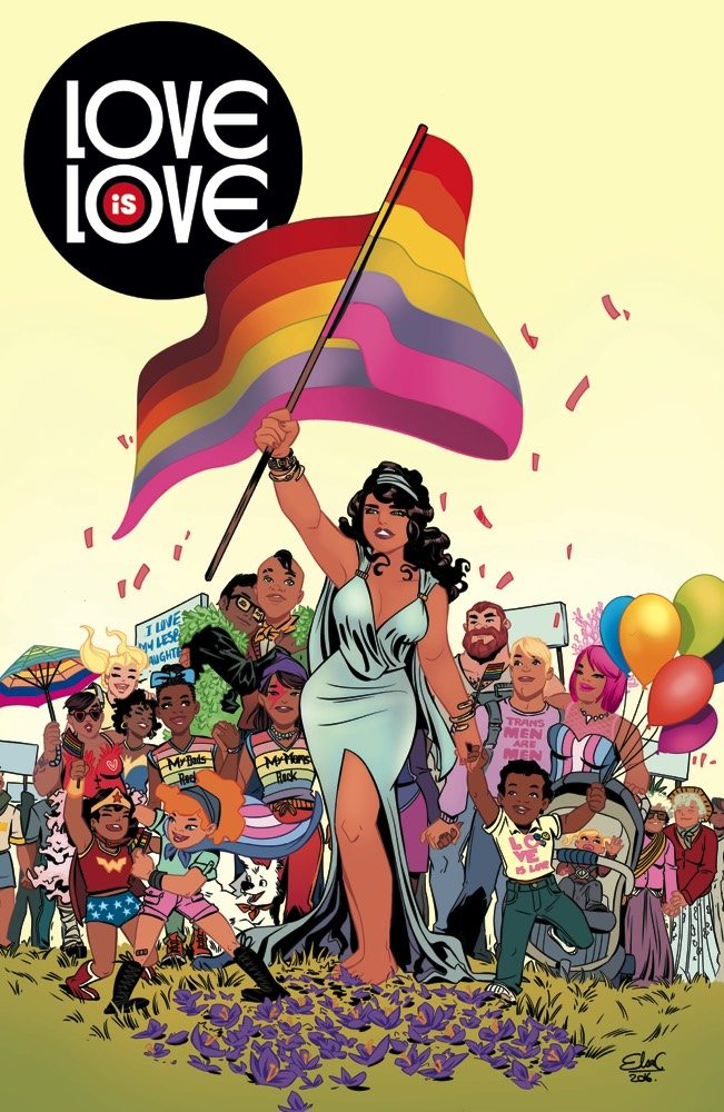Love is love anthology! I worked on a page with the fabulous Amanda Conner!
