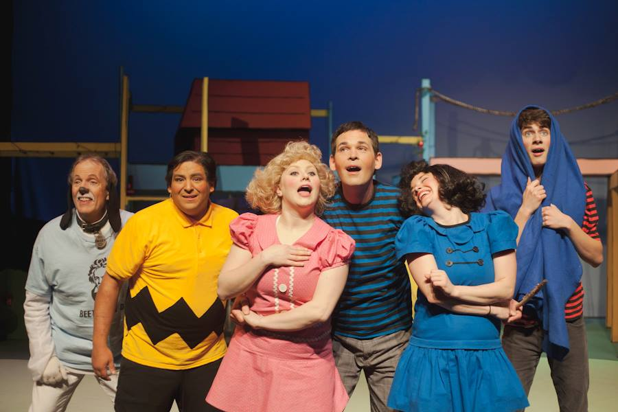 You're a Good Man, Charlie Brown - Theatre Series, December 2013 by Lucy Brown