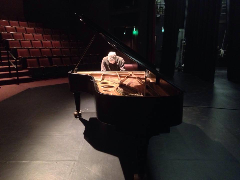 Mark Findlay Rehearses - PianoFest Northwest 2014 by Kathryn Morgen