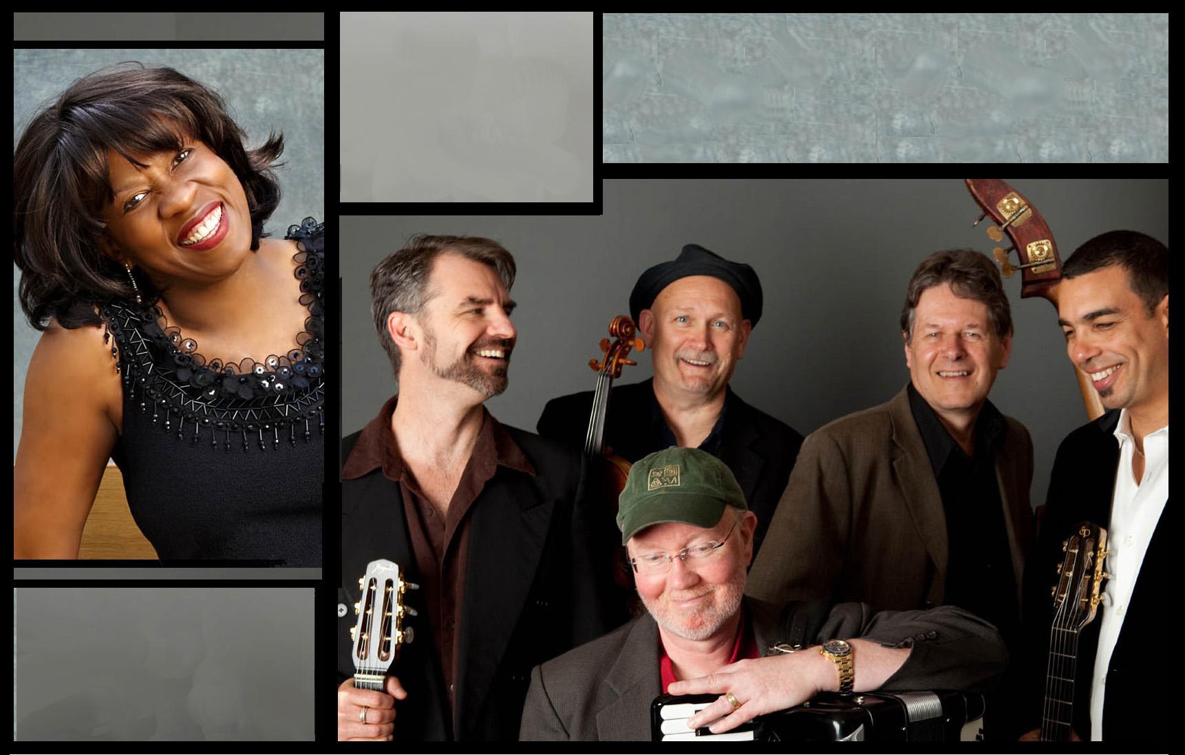 Gail Pettis and members of Pearl Django