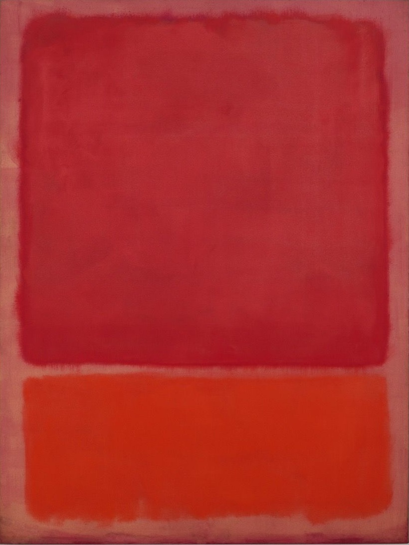 Untitled (Red, Orange) , 1968