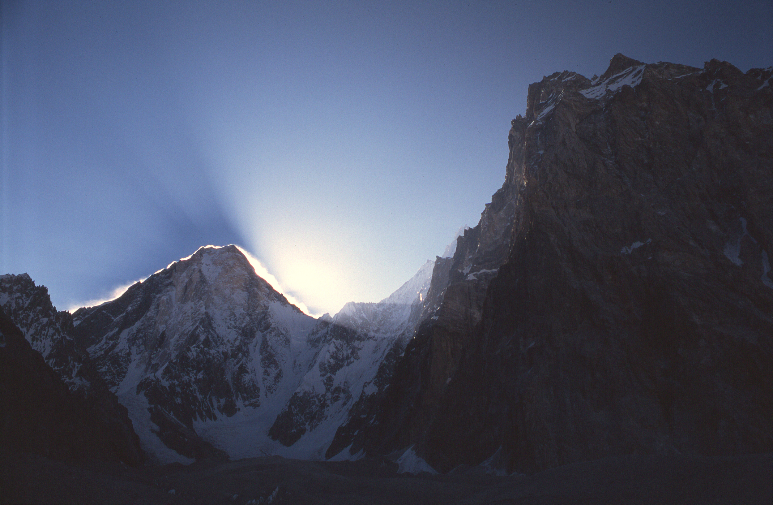 West face at dawn from base camp.