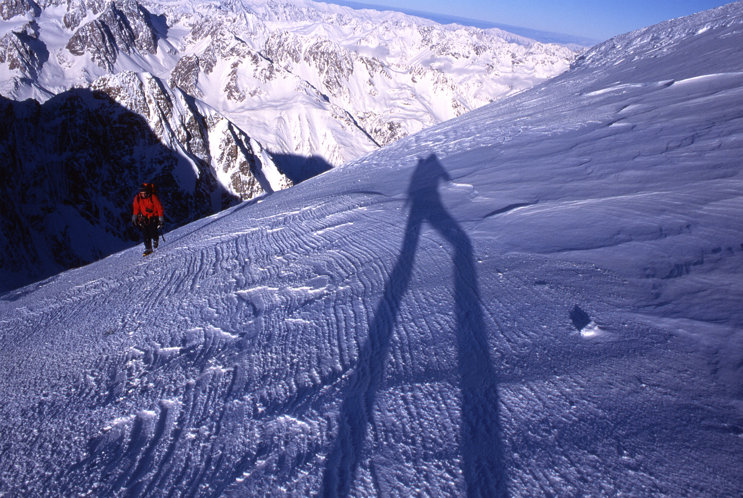 On Mt. Tasman, winter 2006.