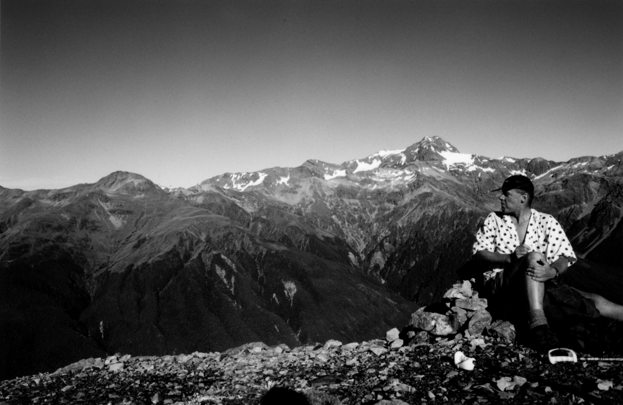 Gavin Tweedie, Arthur's Pass area, 1999.