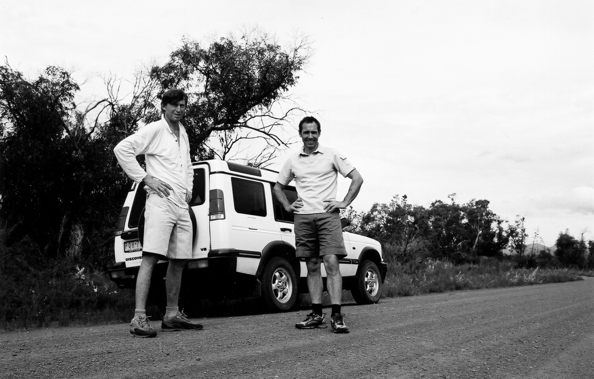 Tim Macartney-Snape and Athol Whimp in the Grampians, Australia, December 2004.