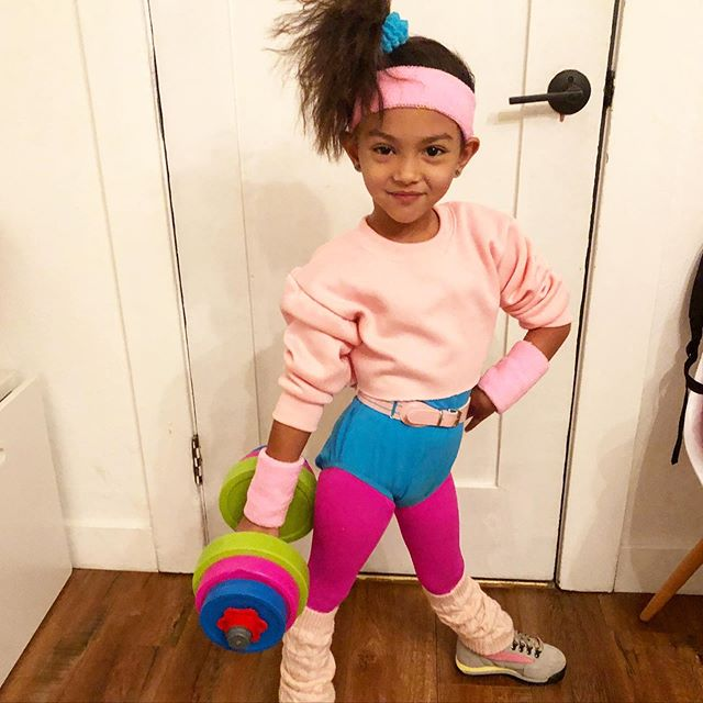 Petra - 80's aerobics instructor - Halloween 2019