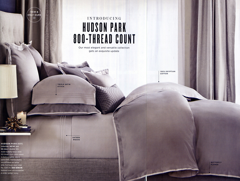 800 Thread Count Collection - Fall 2014