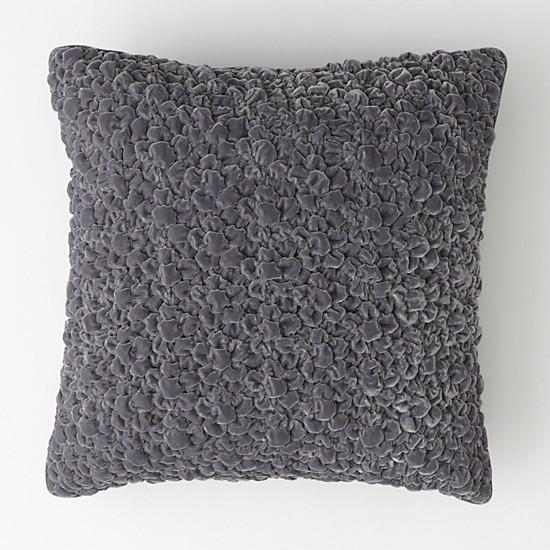 """Textured Velvet dec pillow 18"""" x 18"""""""
