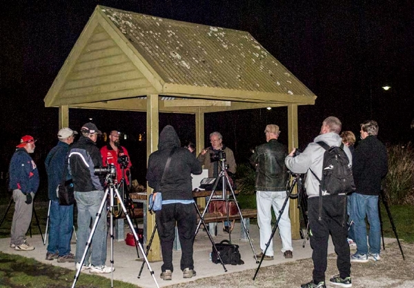 Nighttime Photography Workshop at Lilydale Lake.