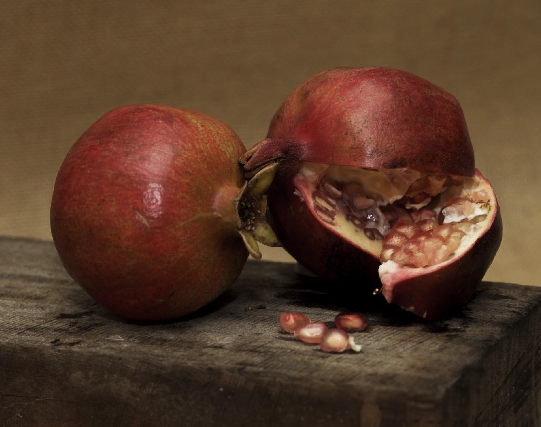 Pomegranates  - Jill Bell. EDI - 3rd place