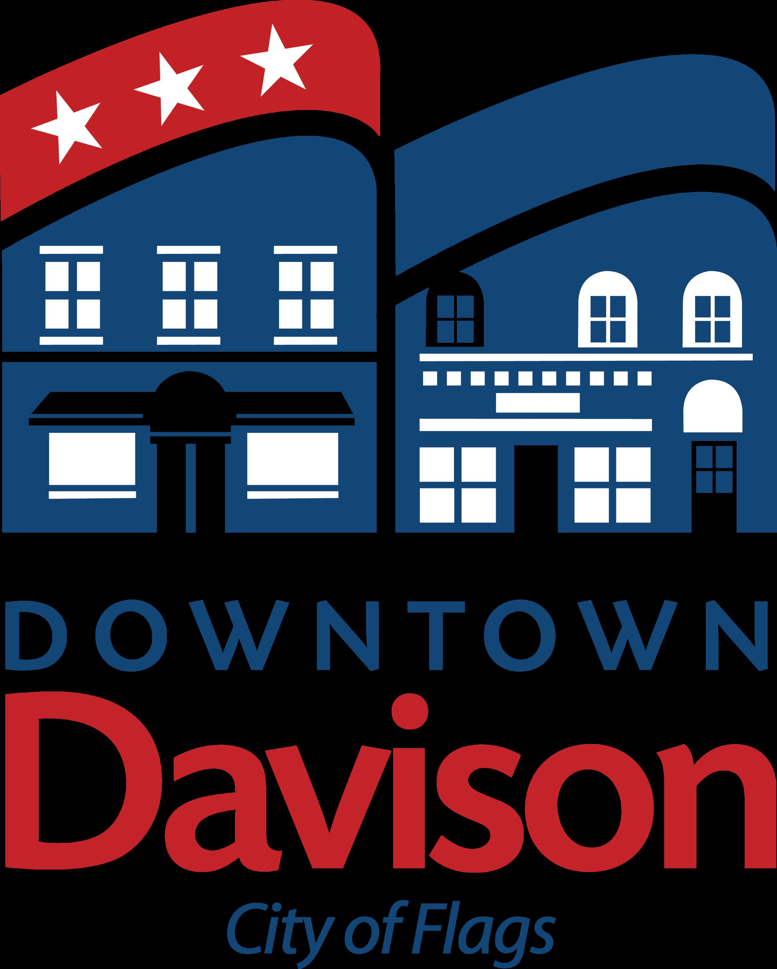 2014 Downtown-Davison-City-Flags-2 New logo.png