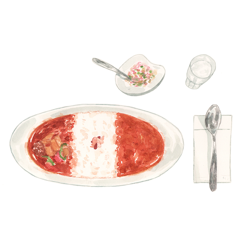 Justine-Wong-Illustration-21-Days-in-Japan-Curry-Up Curry.jpg