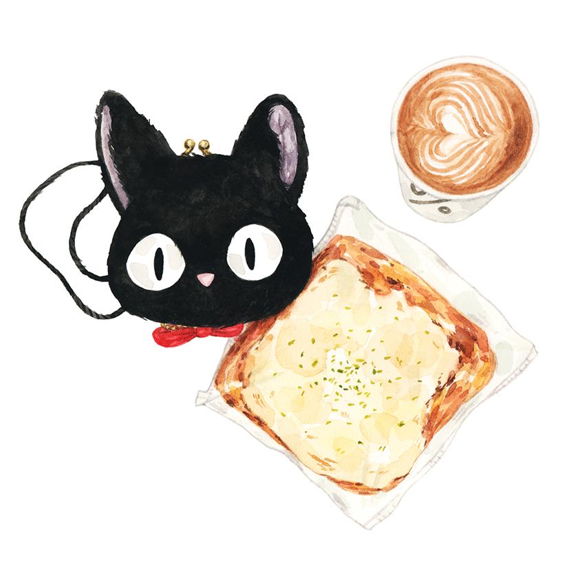 Justine-Wong-Illustration-21-Days-in-Japan-Pizza-Bread.jpg