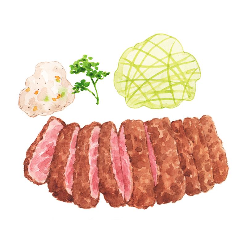 Justine-Wong-Illustration-21-Days-in-Japan-Tonkatsu-Tokyo-First-Meal.jpg