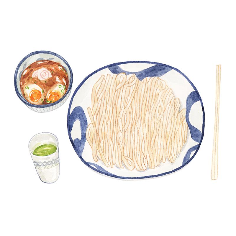 Justine-Wong-Illustration-21-Days-in-Japan-Tsukemen.jpg