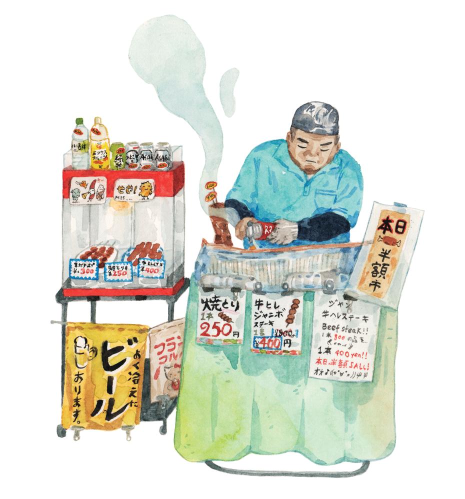 Justine-Wong-Illustration-21-Days-in-Japan-Tsukiji-Meat-Vendor.jpg