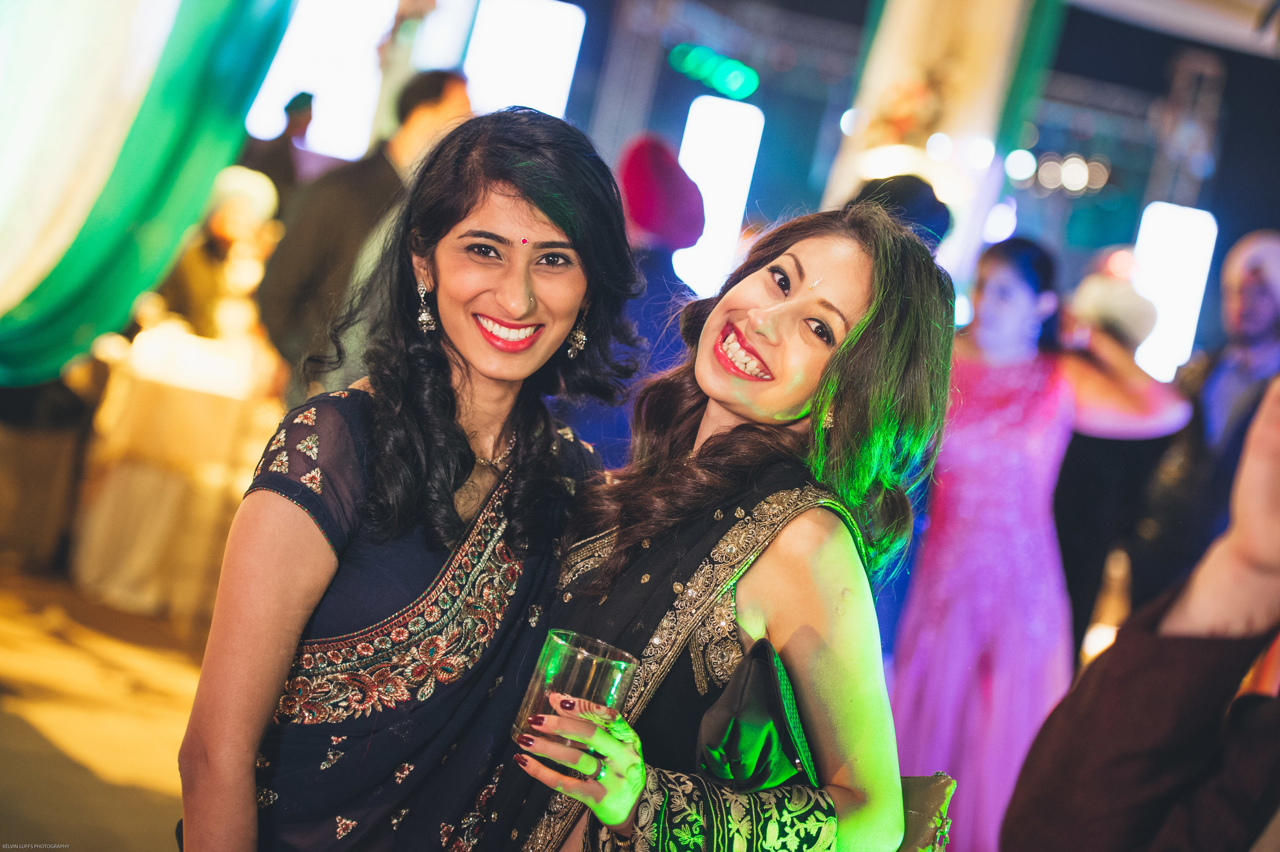 Shalini, Charmaine and Lavina (Bride) have known each other since they were babies! You ladies look fantastic!