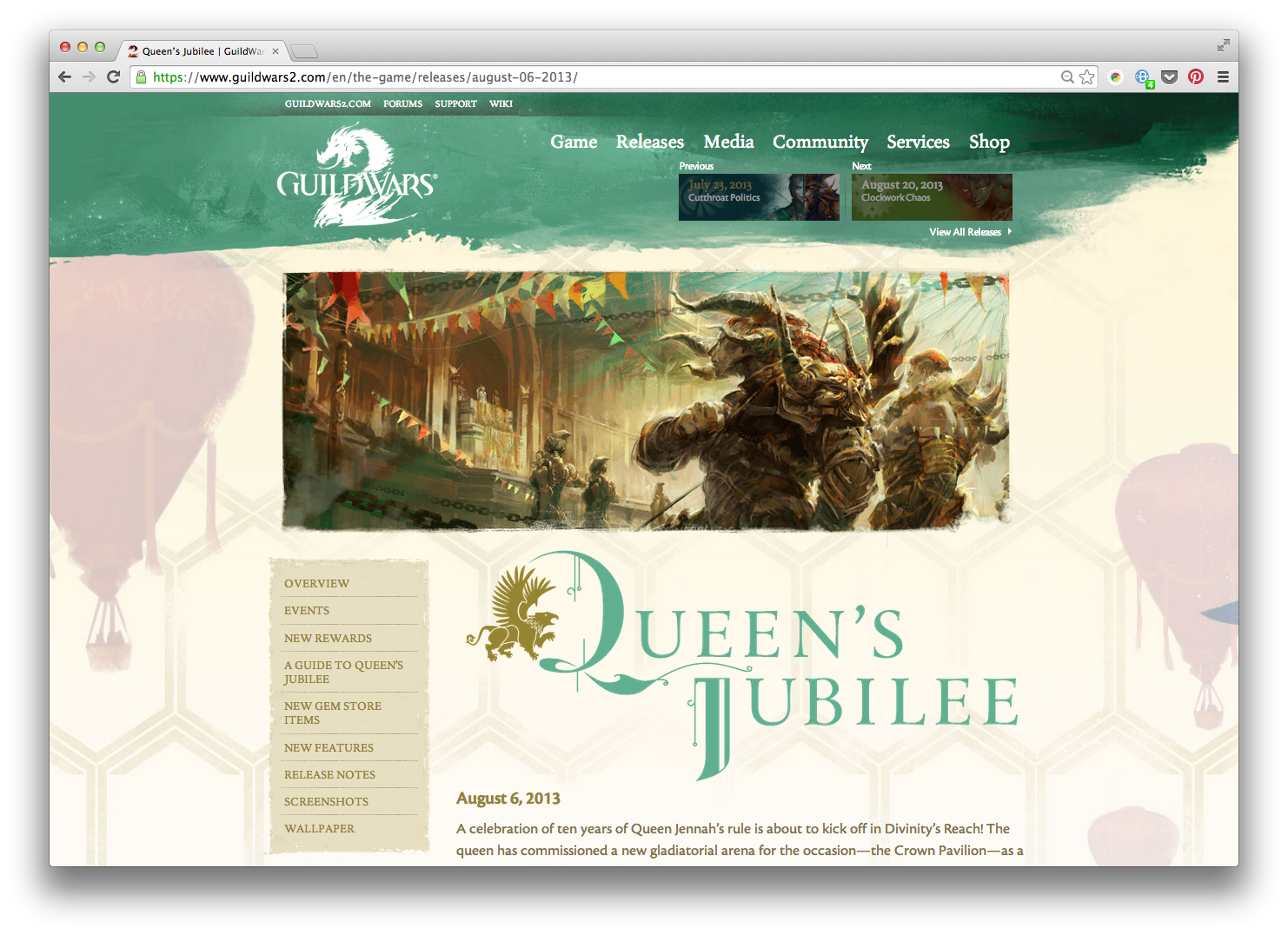 Queen's Jubilee
