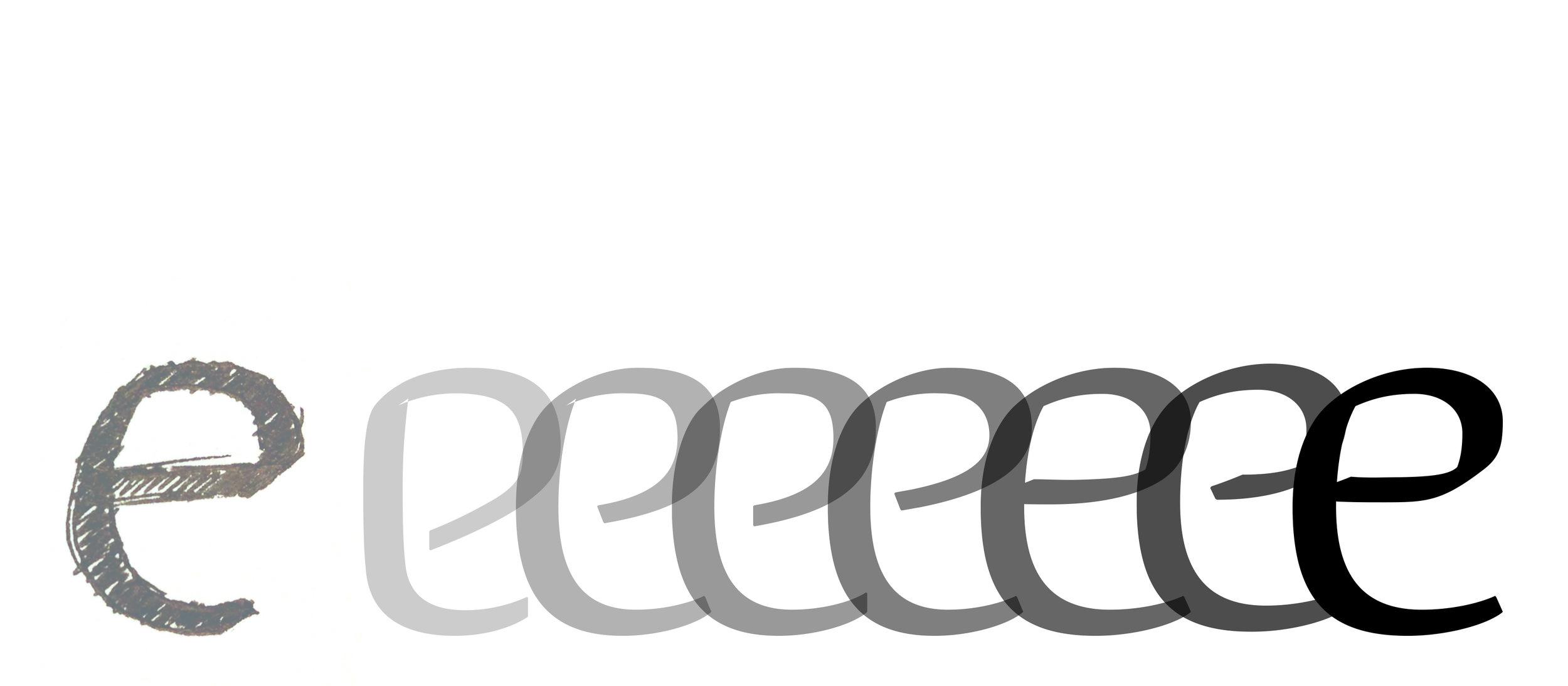 Sketch → Round 1 Digitizing → etc. etc. →Final