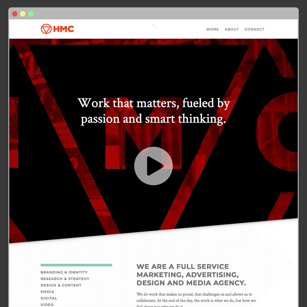 HMC Advertising Website