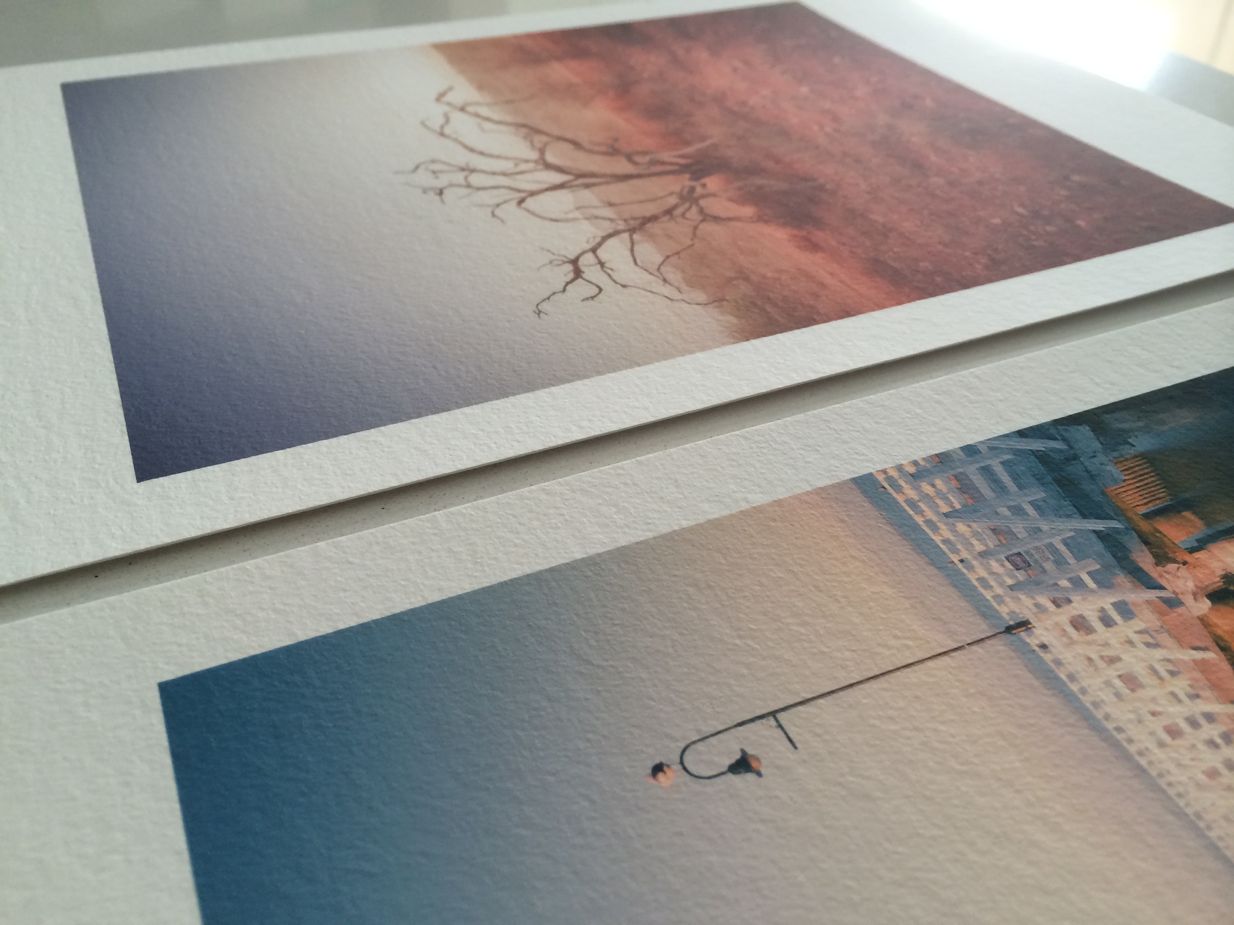 The textured surface of Museum creates a gorgeous effect on the prints.