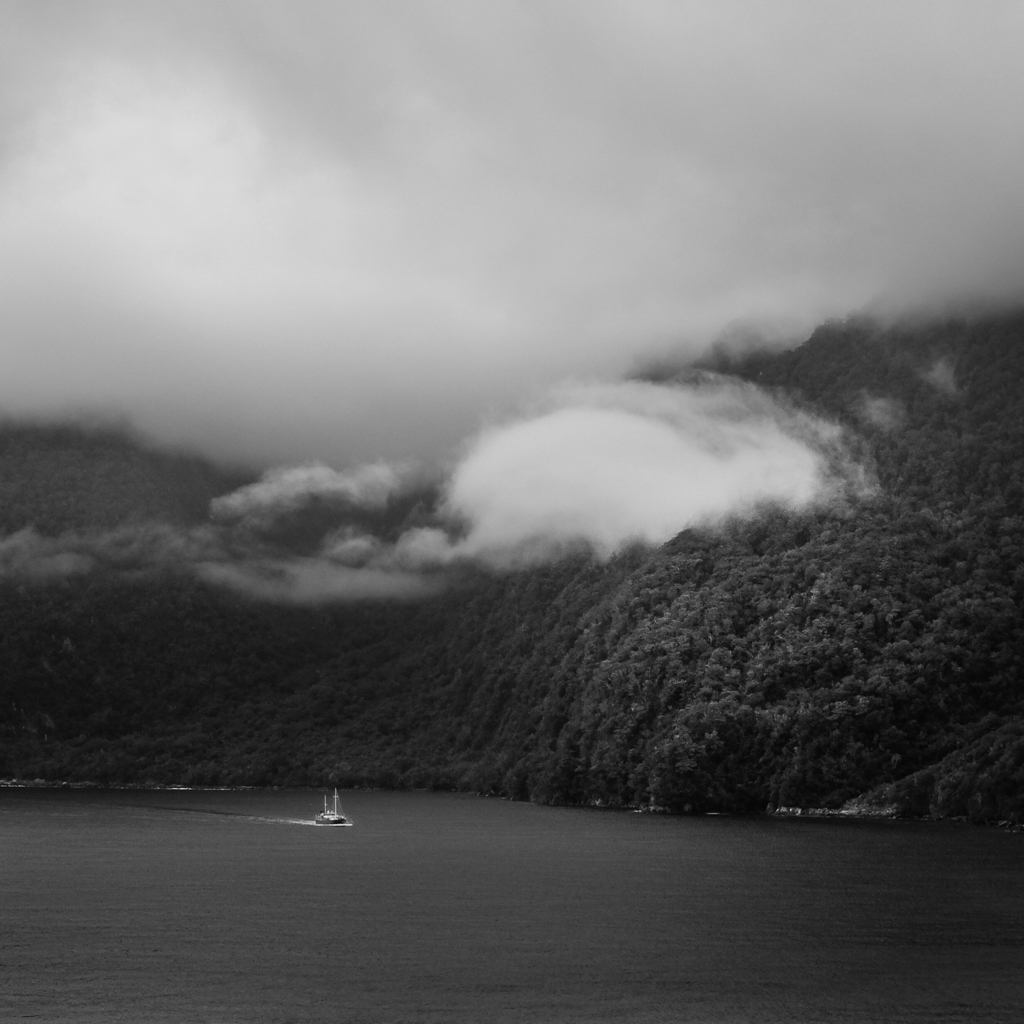 Milford Sound, New Zealand (Fuji X100T)