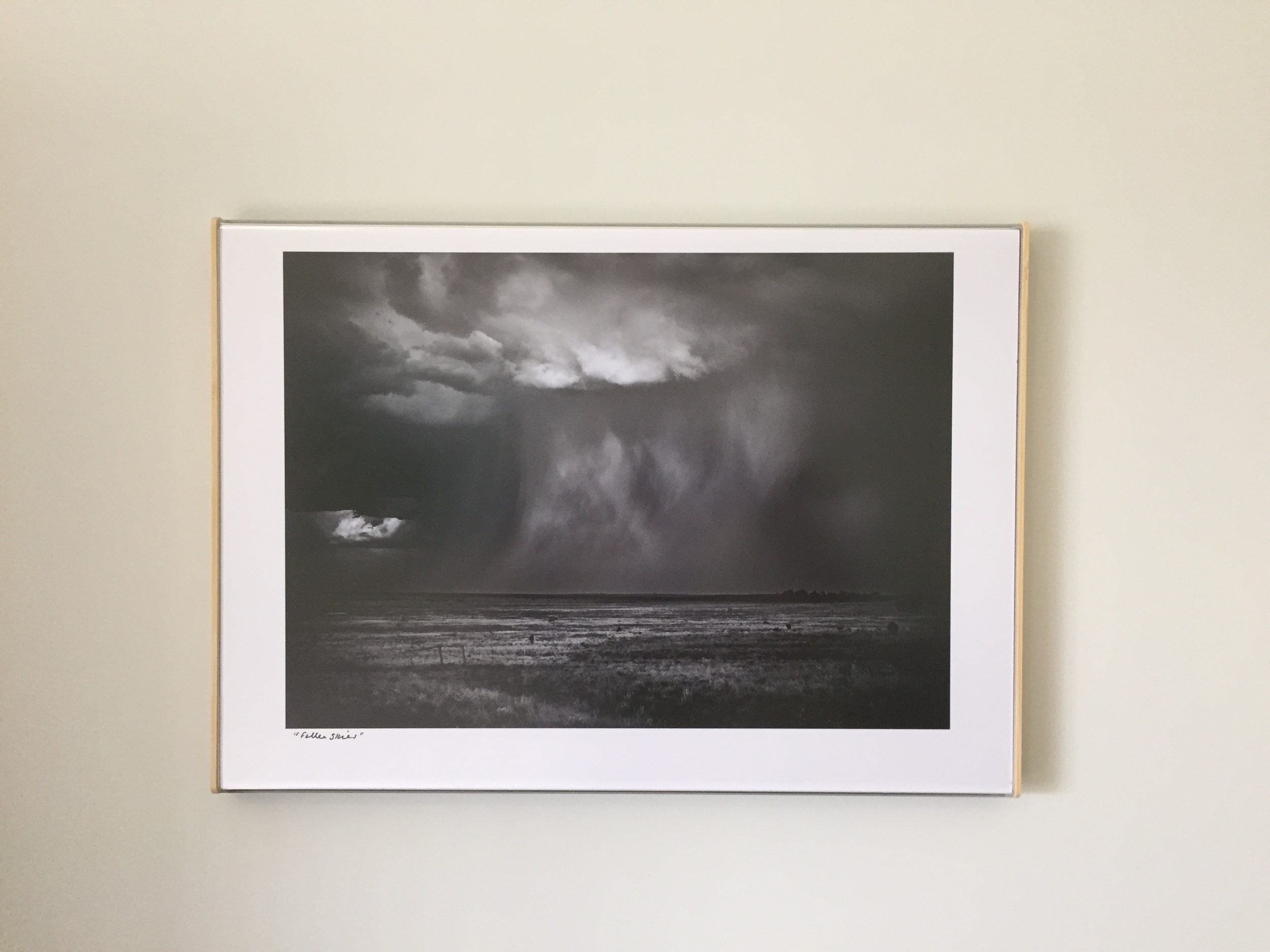 """""""Fallen Skies"""" after Curator Clip was repositioned under better lighting. No glare can be seen here."""