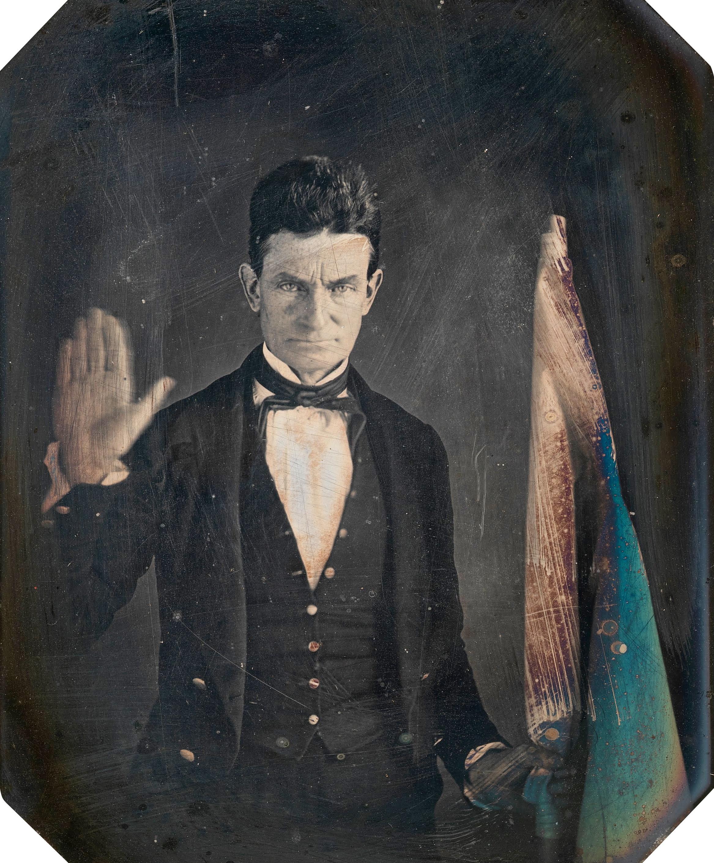 John Brown, daguerreotype (1847)