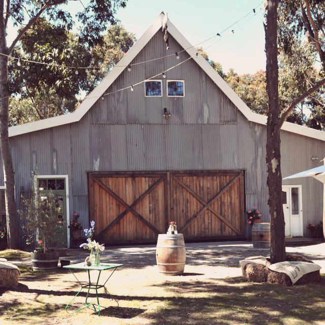 St. Hakea Country Barn wedding styling