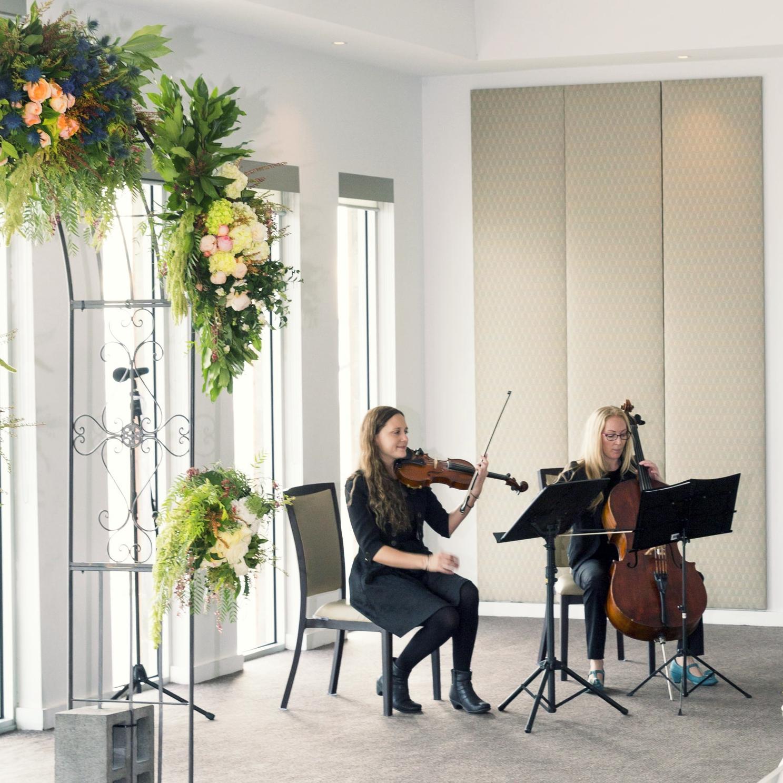 String Duet Liann & Stephen's wedding ceremony